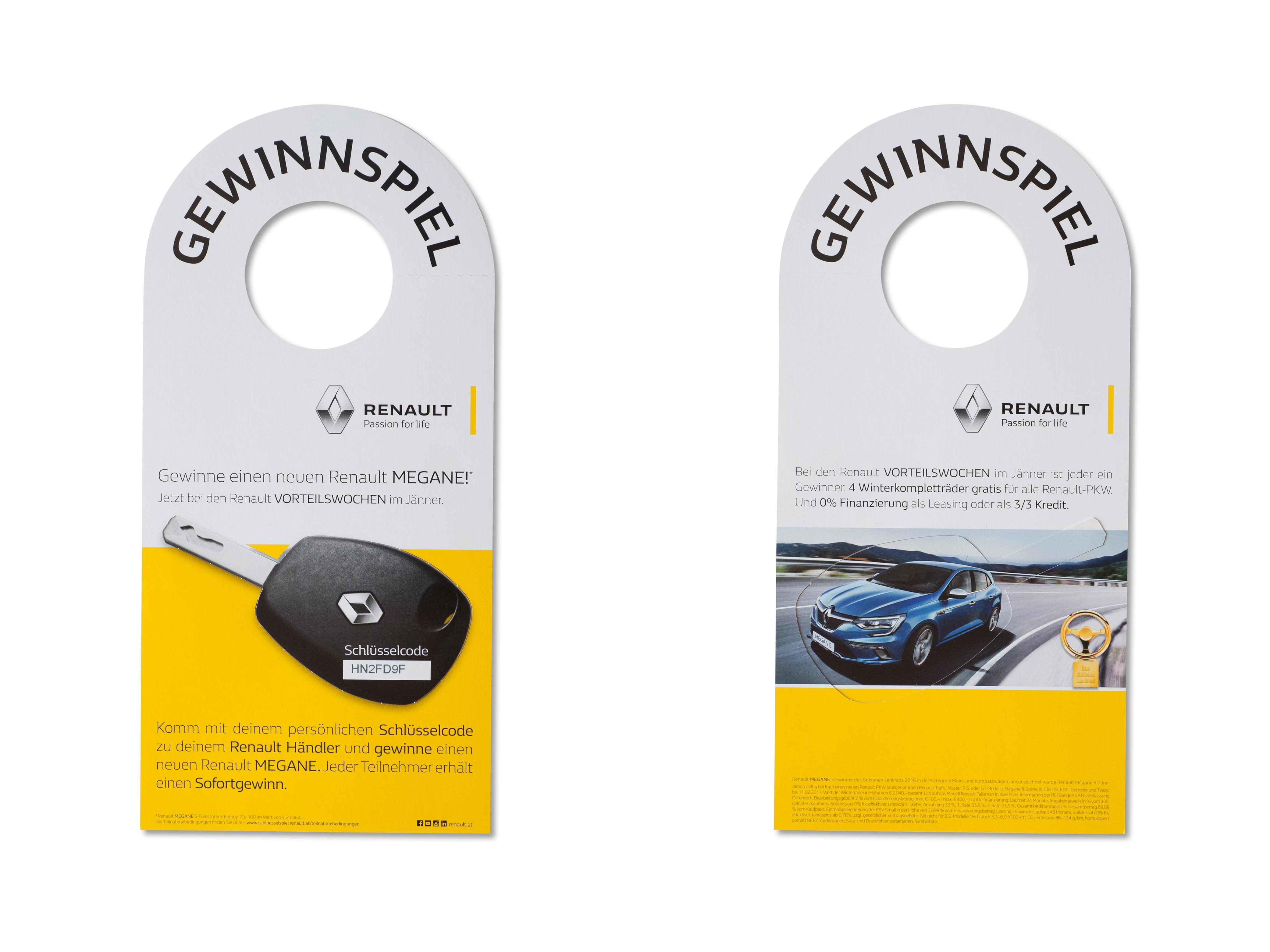 Renault Anwendungsbeispiel Türhänger